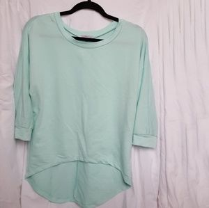 Charlotte Russe Tops - Charlotte Russe Turquise Top